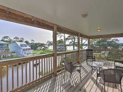 Photo for NEW! Remodeled Retreat w/Pvt Dock on Little Lagoon