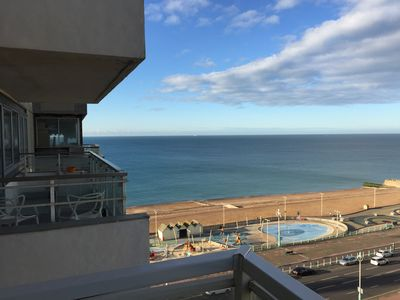 Photo for Brighton Bella Vista - Sea front, Sea View Apartment - by Stay in the heart of..
