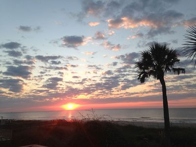 Photo for Cool Breeze!! Beachfront, Affordable 1 Bedroom Apartment