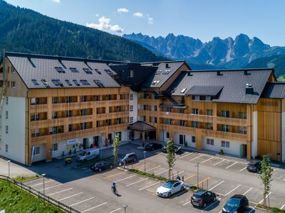 Photo for Lovely apartment nearby Dachstein mountains and town of Hallstatt