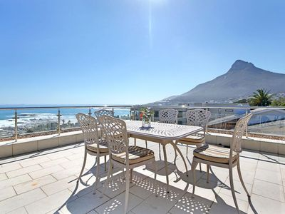 Photo for The Rocks | 4 Bed Camps Bay Villa
