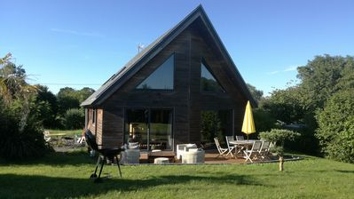 Photo for Charming wood house near Bayeuxx and landing beaches