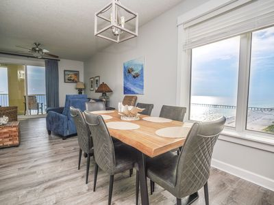 Photo for Direct Beachfront! Gulf Front Master! Complete Update 5/2019! Beach, Pool & FUN!