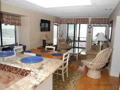 Photo for Tilghman Beach and Racquet Club Unit: 328! Oceanfront 3 Bedroom Condo. Book now for best rates!