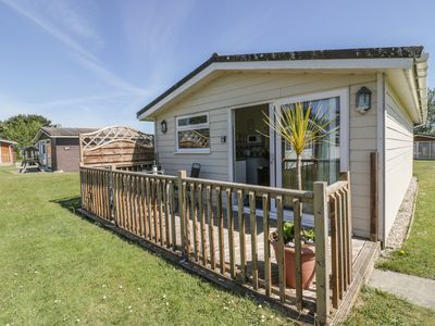 Photo for CHALET 186, with a garden in St Merryn, Ref 1002788