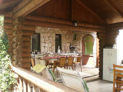 Photo for Myrodato Stone and Wood Eco House - Chalet-6 beds