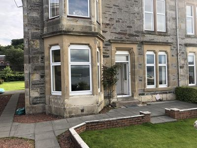 Photo for Family and pet friendly apartment with spectacular sea-views on Isle of Bute
