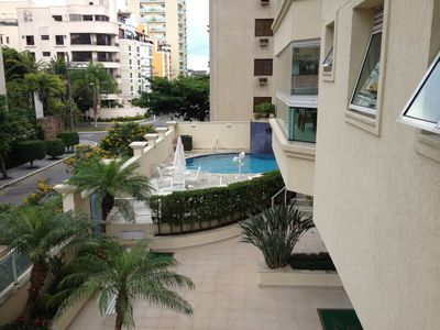 Photo for Apt with complete leisure 400 meters from the beach