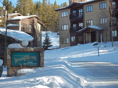Photo for Woods Manor New Year Week in Breckenridge-2 Bed, 2 Bath, Near Slopes