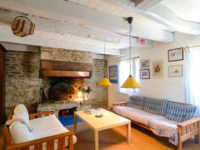Photo for Small restored farmhouse near the sea and beaches, ideal 6/10 people