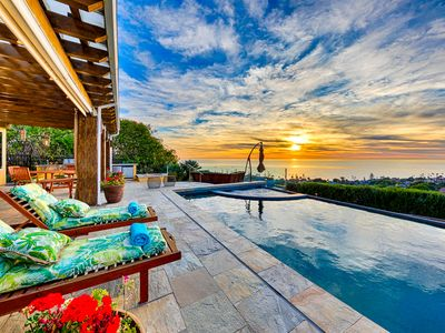 Sweeping Ocean Views, Pool, Hot Tub, & Fire Pit