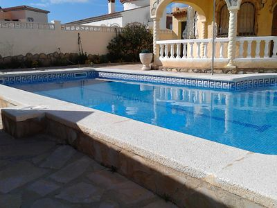 Photo for Miami Playa: New typical Catalonia villa with private pool