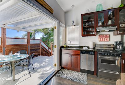 Full kitchen, outdoor dining ... lots of space inside and out!