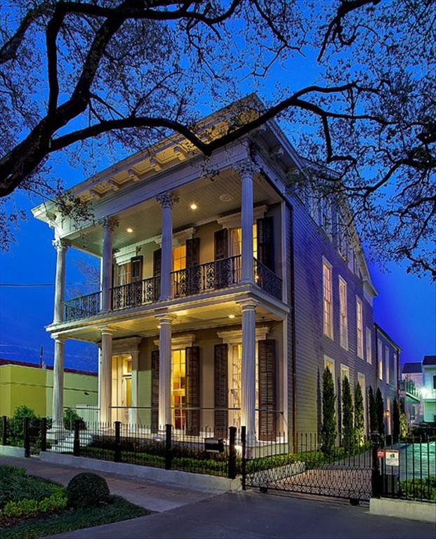 Two unit luxury home on st charles avenue in the garden - 1 bedroom houses for rent in new orleans ...