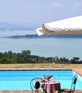 Photo for La Casella, exclusive use private villa with astonishing pool on the lake!