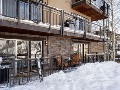 Photo for Ski-in-Ski-out  Deluxe 3br/3 bathroom  Crestwood condo at Snowmass Village