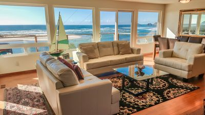 Photo for 20% OFF THIS WEEK!! Use coupon code FALL20 .Breathtaking Bay and Ocean views!