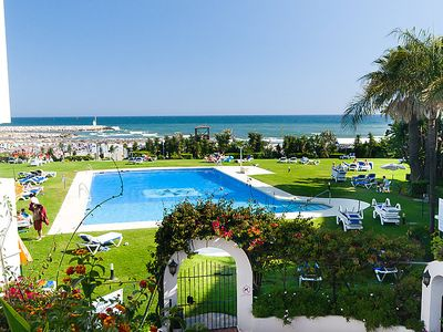 Photo for Apartment Cabopino in Marbella - 6 persons, 3 bedrooms