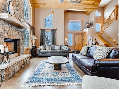 Photo for Luxe All-Suite 3,986 Square Foot Ski Retreat w/ Hot Tub & Gas Fireplace