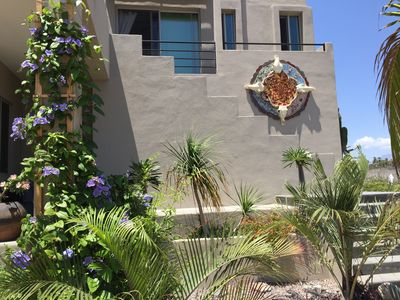 Photo for New Ocean front studio casita. Steps to the sand. 1 bed, 1 bath, sleeps 2