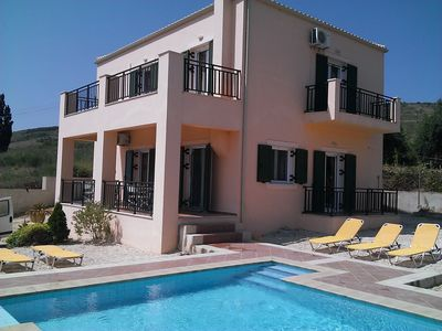 Photo for Large Two Storey Villa, fabulous Sea Views Private Pool With Jacuzzi Seat, Wfi