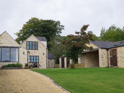 Photo for Lovely Cotswolds  farm house on an award winning vineyard with stunning views