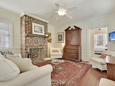 Photo for The Colonial (Suite A) - 2 bed/1 bath with off-street parking (circa 1840's)