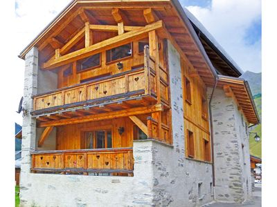 Photo for Charming wooden chalet renovated at 1,500 m altitude