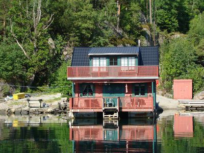 Photo for Cottage on the sea, max. 8 persons, 24 ft cabin diesel boat for hire