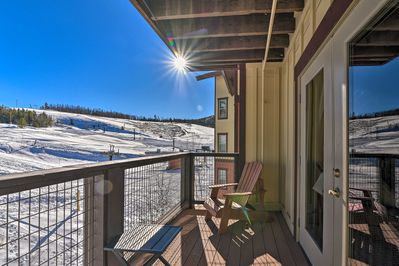The condo is located right next door to Granby Ranch Resort.