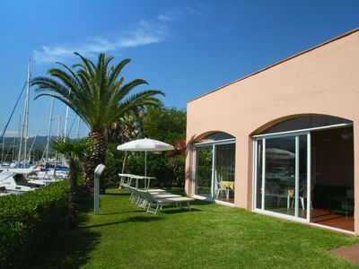 Photo for Cozy villa within the complex Portorosa, only 200 meters from the sea