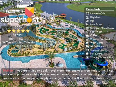 Photo for Free Water Park! NEW Home w/Pool 5miles to Disney! - I