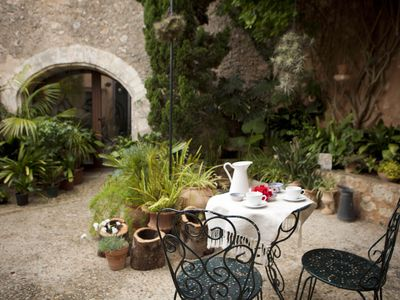 Photo for Fully restored Mallorcan village house and patio.