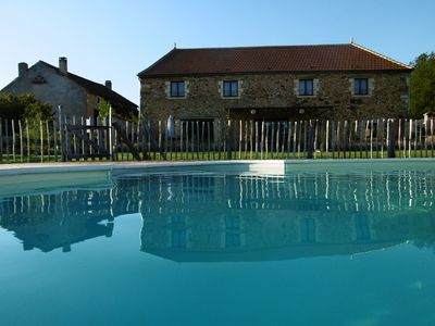 Photo for Charming cottages in Périgord from 8 to 24 people from 60E / pers / week
