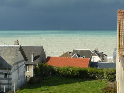 Photo for Sea view, 3 stars, beds made and private parking