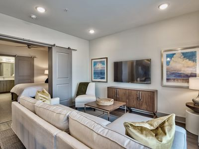 Photo for Luxury Condo, Resort-style pool, Short Walk to Local Shopping and Dining