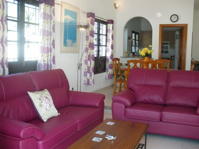Photo for lovely private sunny villa with heated pool and WIFI