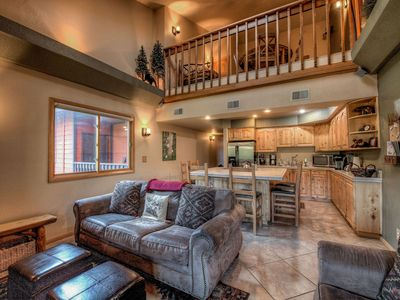 Photo for Mountainside Condo with Views, Shared Hot tub, Steam Room
