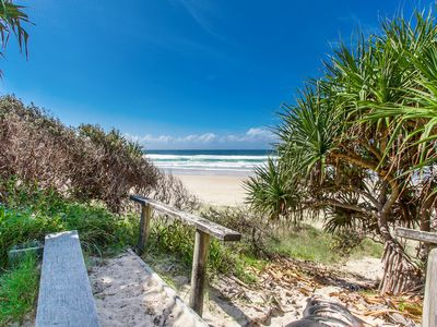 Photo for A SWEET ESCAPE - Beachfront Tranquility