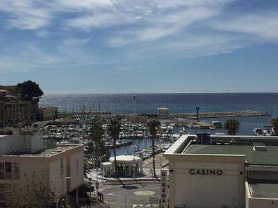 Photo for apartment sea view 180 ° Carry le Rouet