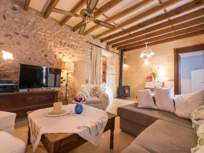 Photo for Vacation home Cas padri in Mallorca/Vilafranca - 6 persons, 3 bedrooms