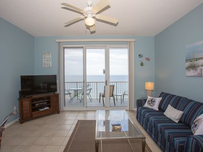 Photo for Cute Condo Overlooking the Gulf ~ Directly on Beach ~ Private Balcony