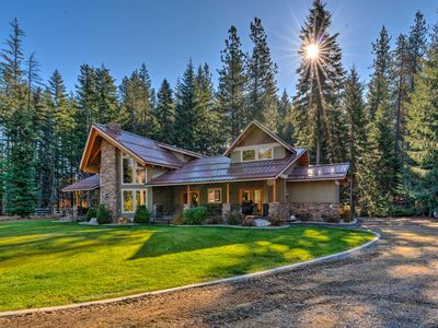 Photo for NEW! 5-Acre Leavenworth Luxury Estate w/Fire Pit!