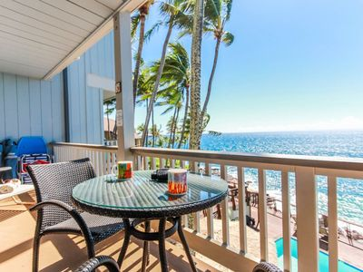 Photo for Free Rental Car, Oceanfront Corner Condo, Cliffside Pool