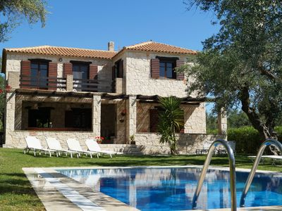 Photo for Traditional stone villa with private pool