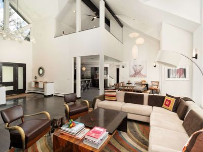 Photo for Luxury Home in Aspen's West End. Media Room, Private Hot Tub, Garage, Private Yard With Large Patio