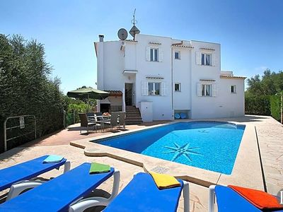 Photo for Cala Egos Villa, Sleeps 9 with Pool, Air Con and WiFi