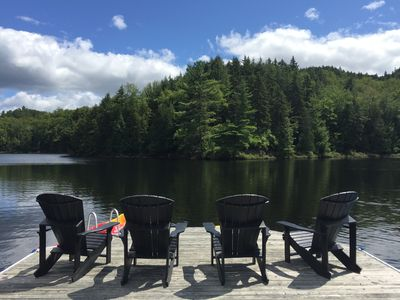 Photo for 4 STAR TREMBLANT CHALET SLEEPS 18-22 W/ GLAMPING OPTION
