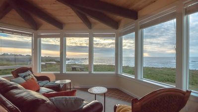 Photo for Cliff House at Otter Point -- Spectacular ocean views, newly remodeled, hot tub