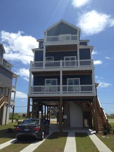 Photo for Beautiful Beach Cottage, Family Friendly w/Elevator, Only Steps from the Beach